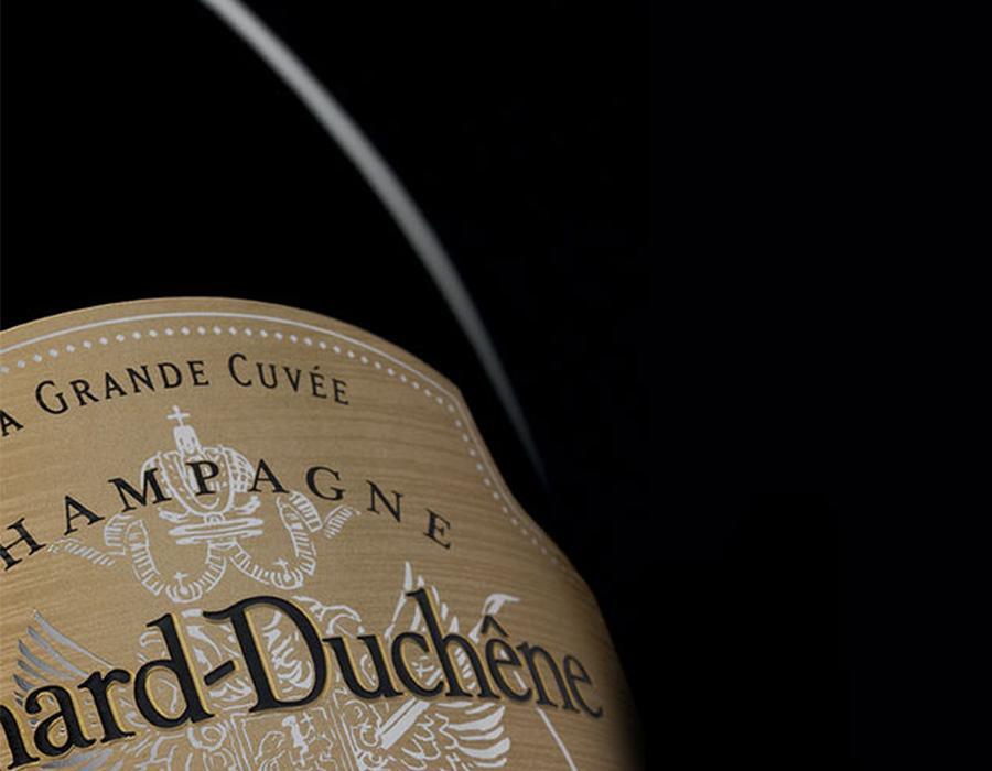 Etiquette du champagne Grande Cuvée Charles VII blanc de noirs