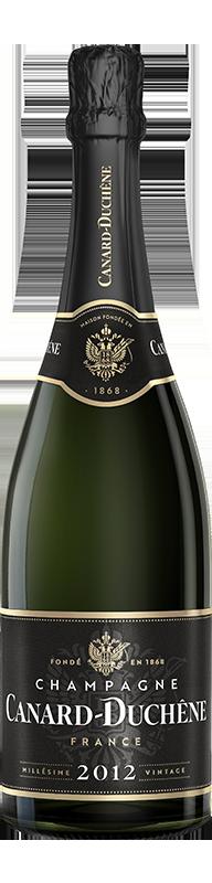 Kết quả hình ảnh cho champagne canard duchene brut millesime 2012